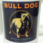 Bulldog Label Mug