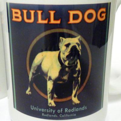 Bulldog Label Mug