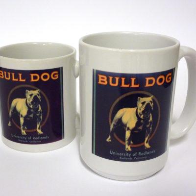 Bulldog Label Mugs